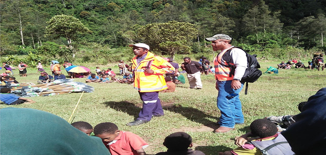 ExxonMobil PNG assists with restoration of food gardens in Hela Province