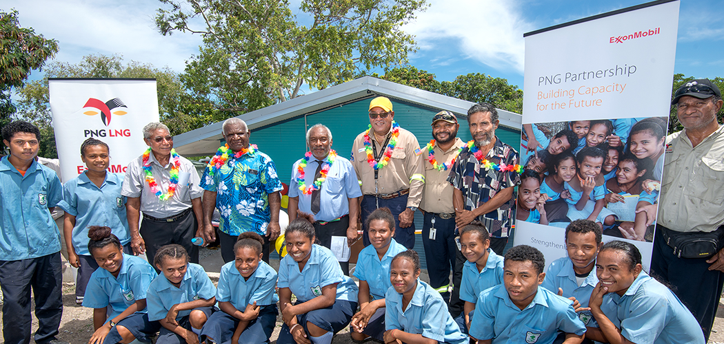 ExxonMobil PNG embraces WASH to champion health and learning opportunities for children in schools near the LNG Plant